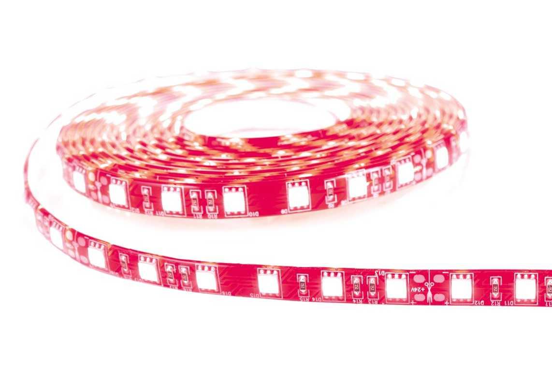 Rouleau strip LED 5 m résine - 980 lumens - Rouge