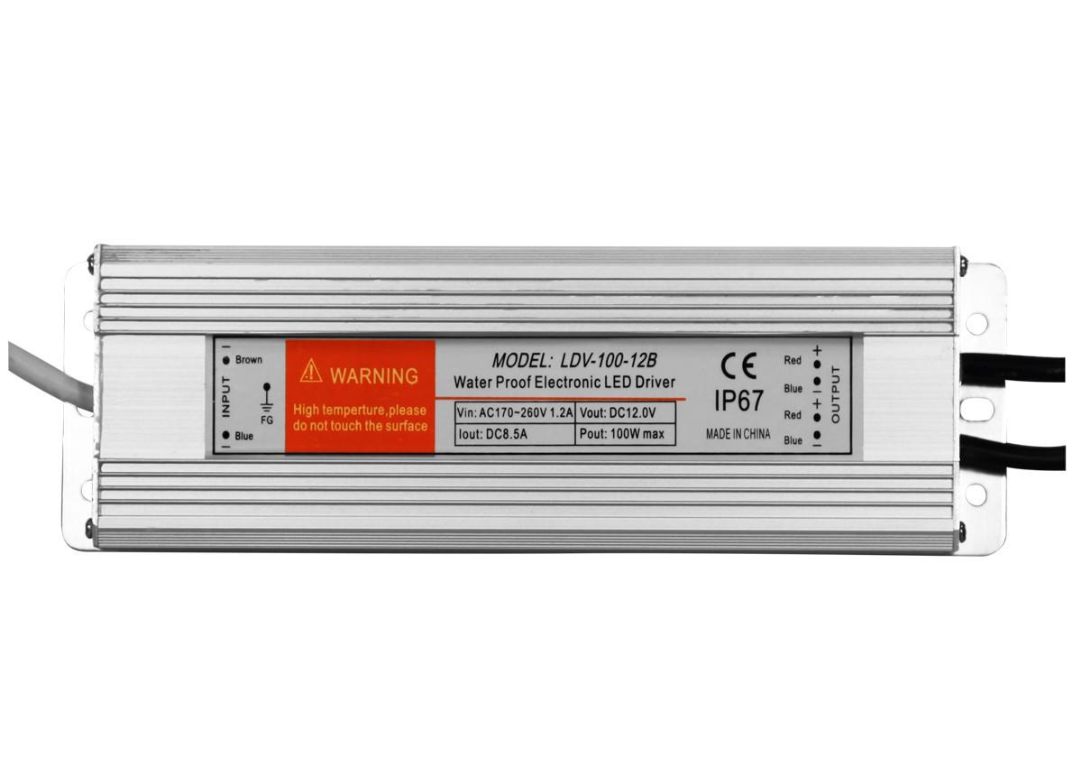 Transformateur 12V - 100W - IP67