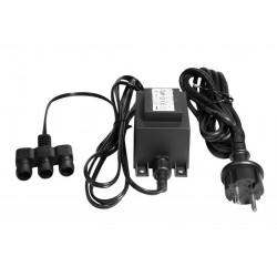 Transformateur 12V - 70W - IP44 de marque LUMIHOME , référence: B5072700