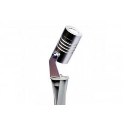 Spot piquet chrome LED - 300 lumens - Blanc froid 6500K de marque LUMIHOME , référence: J5074300