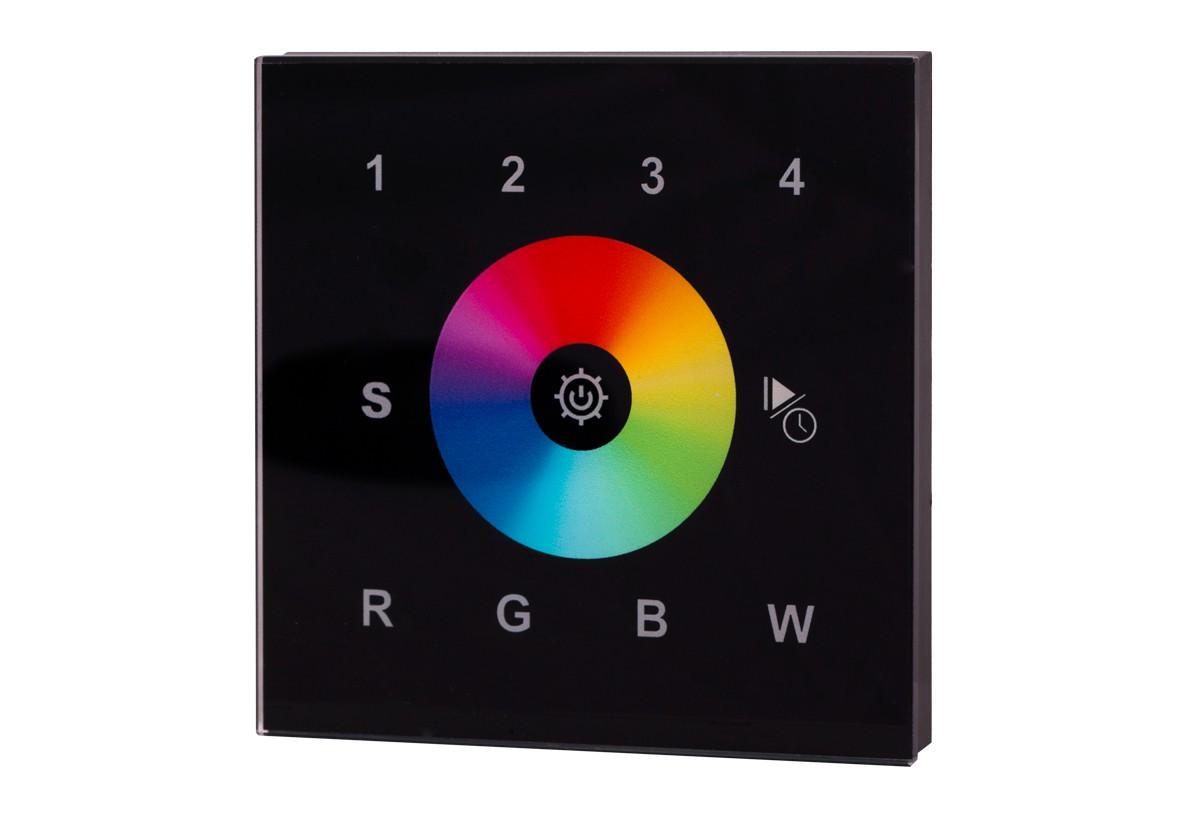 Emetteur RF tactile murale - multi-zone - RGBW