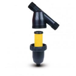 "Filtre Toro polypropylène à tamis inox 1"" MM - 100µ- Débit maximum : 200 l/mn de marque TORO, référence: J5109000"