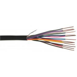 Touret câble 2 conducteurs pour télécommande d'électrovannes très basse tension - 75m de marque Paige irrigation, référence: J5109100