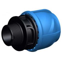 """Manchon de transition mâle - iJoint - Ø 25 mm fileté 3/4"""" de marque GF Piping Systems, référence: J5129300"""