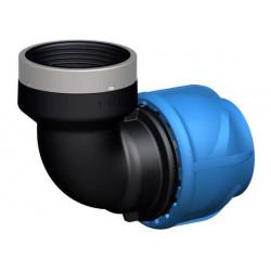 """Coude de transition 90° - iJoint - Ø 25 mm taraudage femelle 3/4"""" de marque GF Piping Systems, référence: J5138300"""