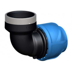 """Coude de transition 90° - iJoint - Ø 25 mm taraudage femelle 1"""" de marque GF Piping Systems, référence: J5138400"""