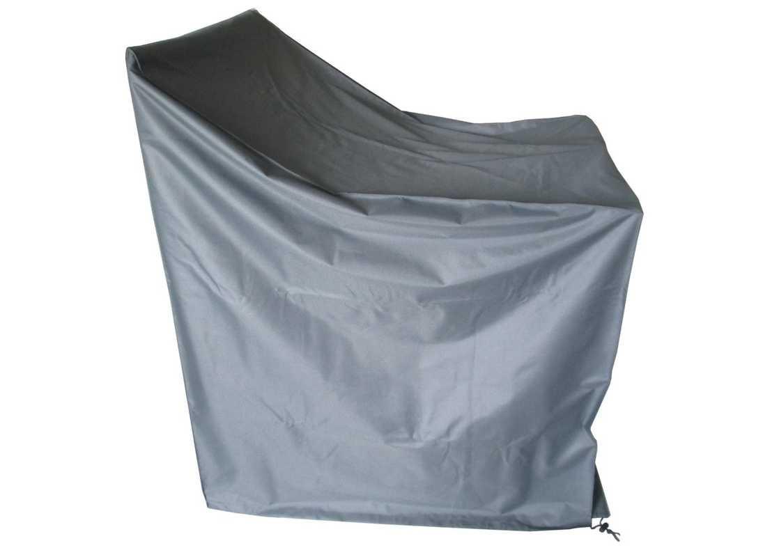 Housse de protection pour sièges empilables - 87 x 120 cm - Gris
