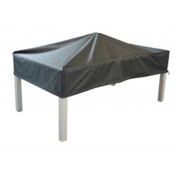 Housse de protection pour table - 180 x 100 cm - Grise de marque PROLOISIRS, référence: J5184100