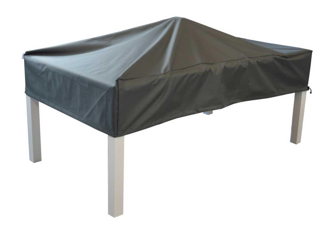 Housse de protection pour table - 160 x 160 cm - Grise