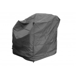 Housse de protection pour fauteil détente - 90 x 80 x 90 cm - Gris de marque PROLOISIRS, référence: J5184800