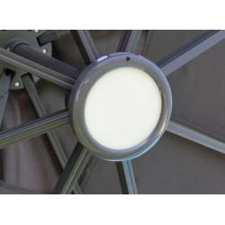 Luminaire LED rechargeable - Parasol déporté - Fixation baïonette de marque PROLOISIRS, référence: J5190800