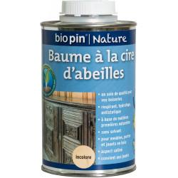Baume à la cire d'abeilles 0,5 L - Incolore de marque Biopin Nature, référence: B5244600