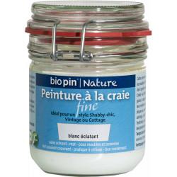 Peinture naturelle à la craie fine 0,325 L - Blanc éclatant de marque Biopin Nature, référence: B5245400