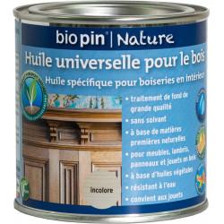 Huile universelle pour bois 0,375 L - Incolore de marque Biopin Nature, référence: B5246200