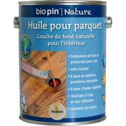 Huile pour parquet 2,5 L - Incolore de marque Biopin Nature, référence: B5246600