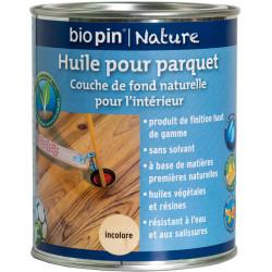 Huile pour parquet 0,75 L - Incolore de marque Biopin Nature, référence: B5246700