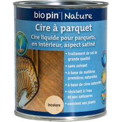 Cire à parquet 0,75 L - Incolore de marque Biopin Nature, référence: B5246900