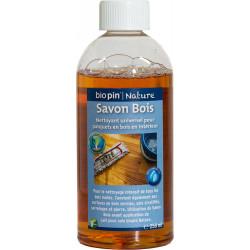 Savon Bois 0,25 L de marque Biopin Nature, référence: B5247000