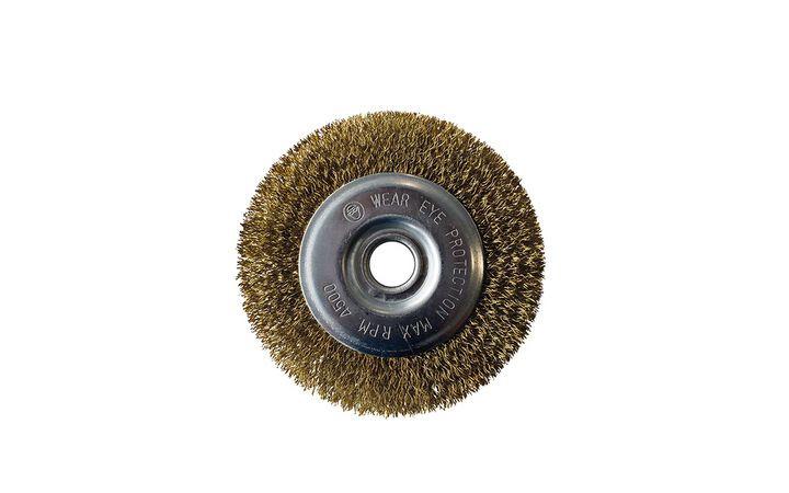 Brosse métallique acier laiton nettoyage joints, pour appareil MultiBrush et WeedBrush Gloria