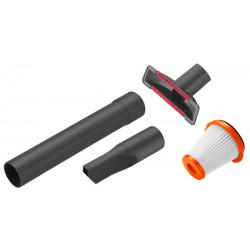 Kit accessoires pour une utilisation de l'aspirateur à main de marque GARDENA, référence: J5022400