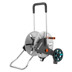 Dévidoir sur roues AquaRoll M Metal de marque GARDENA, référence: J5027400