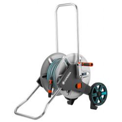 Dévidoir sur roues AquaRoll M Metal équipé de marque GARDENA, référence: J5027500