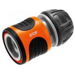 Raccord d'arrosage aquastop pour tuyau Ø 15 mm de marque GARDENA, référence: J3392900