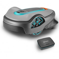 Tondeuse robot smart SILENO life 750 - surfaces 750 m² de marque GARDENA, référence: J5029200