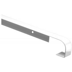 Profil de jonction Bord à Bord, Plan de travail 28mm, Forme 2 quarts de rond, de rayon 0 - 2 mm, Alu de marque Nordlinger, référence: B5267400