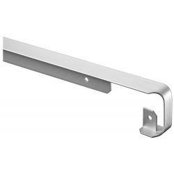 Profil de jonction d'angle, Plan de travail 28mm, Forme 2 quarts de rond, de rayon 0 - 2 mm, Alu de marque Nordlinger, référence: B5268000