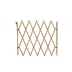 Barrière Stopfix, en bois brut, extensible à 110cm de marque Nordlinger, référence: J5269100