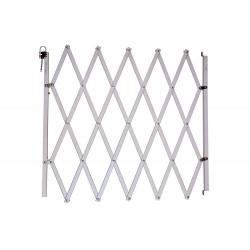 Barrière Stopfix, en bois, blanche, extensible à 110cm de marque Nordlinger, référence: J5269200
