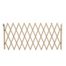Barrière Stopmax, en bois brut, extensible à 230cm de marque Nordlinger, référence: J5269300