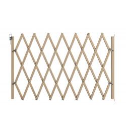 Barrière XX Tall, en bois brut, extensible à 200cm de marque Nordlinger, référence: J5269500