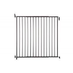 Barrière métal Kenny, pivotante, double cadre, 87-153cm, hauteur 105cm de marque Nordlinger, référence: J5270000