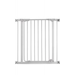 Barrière métal Misty, à pression et portillon, 73-84cm, hauteur 76cm de marque Nordlinger, référence: J5270100