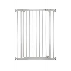 Barrière métal Mara, à pression et portillon, 73-84cm, hauteur 95cm de marque Nordlinger, référence: J5270300