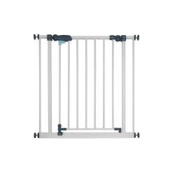 Barrière métal Cléo, portillon, à pression 73-81cm, hauteur 77cm de marque Nordlinger, référence: B5271000