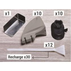 Recharge de 30 languettes pour kit de serrage de plinthes Fixpress de marque Nordlinger, référence: B5279400