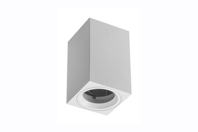 Petit plafonnier cylindrique SENSA mini - Aluminium - Noir - 11,5 cm - IP 20