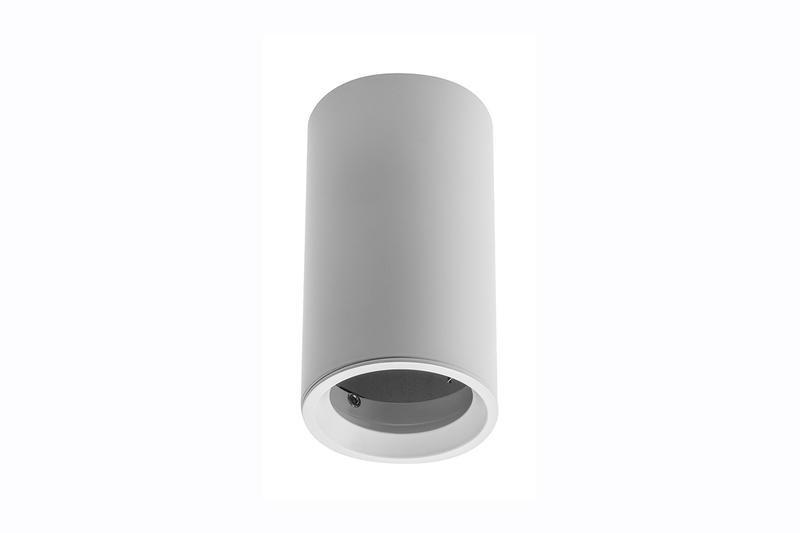 Petit plafonnier cylindrique SENSA mini - Aluminium - Blanc - 11,5 cm - IP 20