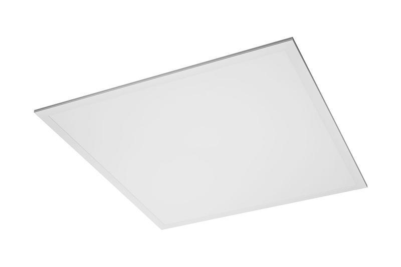 Dalle LED carrée blanche - 59,5 x 59,5 cm - 40 W - 4400 lumens - blanc - IP54
