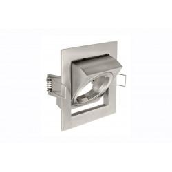 Spot de plafond VILA orientable - encastrable - acier - couleur altérée - 8 x 8 cm de marque GTV Lighting, référence: B5298400