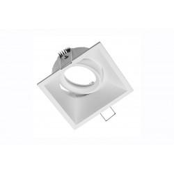 Spot de plafond SALTO orientable - aluminium - blanc - 9 x 9 cm de marque GTV Lighting, référence: B5299300