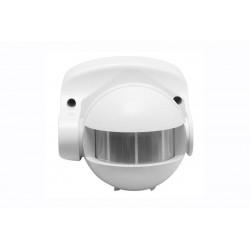 Détecteur de mouvement CR-1 blanc - plafond/murale - détection 10 m - 180° - IP 44 de marque GTV Lighting, référence: B5299500