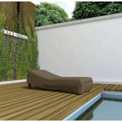 Housse de protection en polyester pour chaise longue - 200 x 80 x 40 cm - 90 g/m2 de marque NORTENE , référence: J5303300