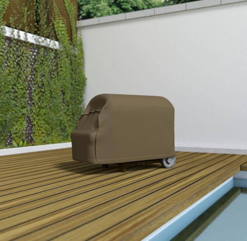 Housse de protection en polyester pour Barbecue - 70 x 130 x 70 cm - g/m2