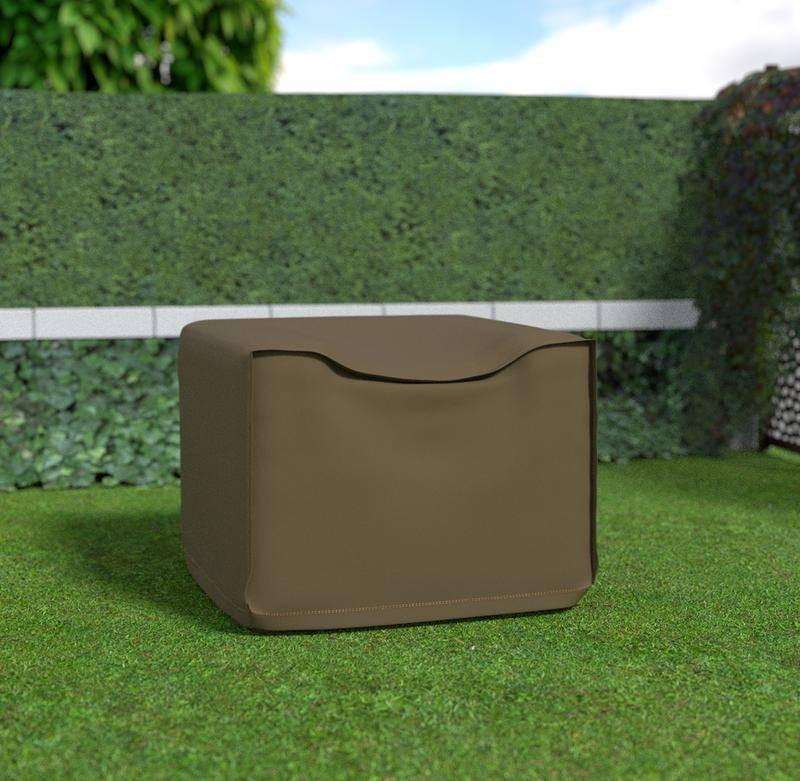 Housse de protection en polyester pour canapé 1 place - 95 x 95 x 70 cm - g/m2