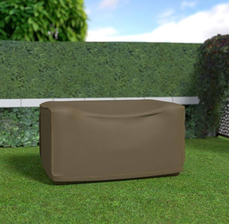Housse de protection en polyester pour canapé 2 places - 140 x 85 x 70 cm - g/m2