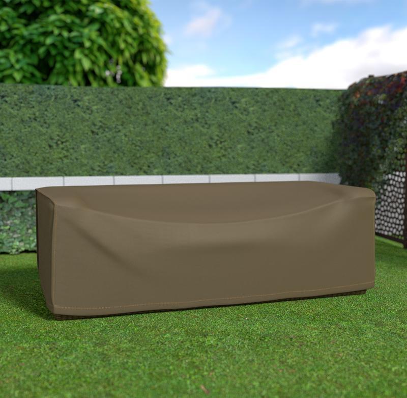Housse de protection en polyester pour canapé 3 places - 230 x 100 x 70 cm - g/m2